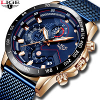 2019 New LIGE Casual Watch for Men.
