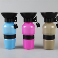 Portable  water bottle for dogs, cats, pets. Conveniently keeps your beloved pet hydrated on the go.