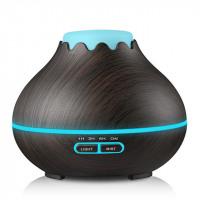 Wood Grain 400ml Air Humidifier/Essential Oil Diffuser - Oil Diffuser Essentials