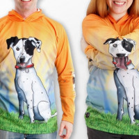 HOUND DOG Hoodie Sport Shirt by MOUTHMAN® - MOPOMAX