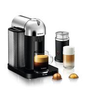 Breville L.P. Nespresso VertuoLine with Aeroccino 3 by Breville, Chrome