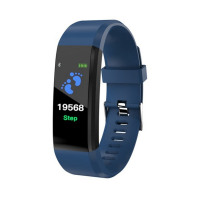 ID115 PLUS Color Screen Smart Bracelet Sports Pedometer Watch Fitness Running Walking Tracker Heart Rate Pedometer Smart Band - EVERTHINGZ