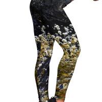 Women's Leggings - Brine and Barnacle Design