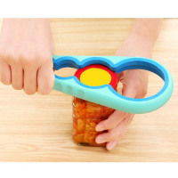 Ever get frustrated with a pickle jar cap and other lids? This opener can with even the most stubborn of lids come off with this hand held, non-slip, 4 in 1 opener save you strength and frustration to make your home life that much easier!   This item is going quick! We want to be transparent, so with negotiating to find the best price for this awesome home accessory, Storktail.com had to bend a little on delivery times to bring you the best discounted price with free standard shipping.