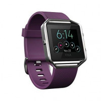 Fitbit Blaze Smart Watch (Plum, Small)