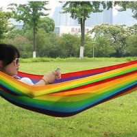 SeaSwing® Handmade Rainbow Caribbean Beach Hammock