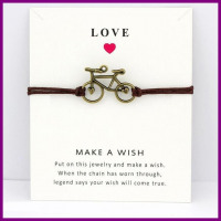 FREEE Bicycle  Antique Silver  Charm Bracelets