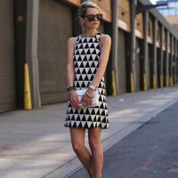 Casual Sleeveless  Mini Temperament Dress