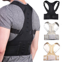 Male Female Adjustable Magnetic Posture Corrector - Back Belt Lumbar Support