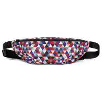 Corporate Triangles Fanny Pack - SxR Creations