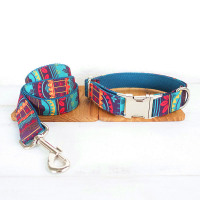 Luxury Designer Dog Collar with matching Leash