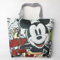 2019 Disney Fashion Cute Mickey Mouse Bag Women's One-Shoulder