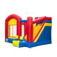 """157.2 x 141.6 x 110.4""""  kids rent Inflatable moonwalk jumper combo Bouncer slide jumping bed,inflatable bounce house bouncy cast"""