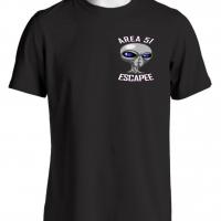 Area 51 Escapee Alien T Shirt