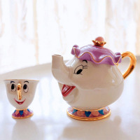 Teapot Mug Mrs Potts Chip Ceramics Set