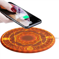 Magic Wireless Charger Mobile Phone Array 10W Magic Circle Fast Charger Charging Pad Mat Gift