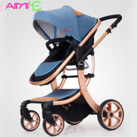 Aimile baby stroller 2 in 1 High landscape Multifunctionc .