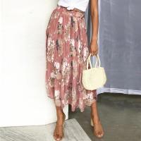 Bohemian Floral High Waist Long Skirt